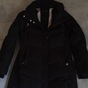 Calvin Klein long performance puffer coat